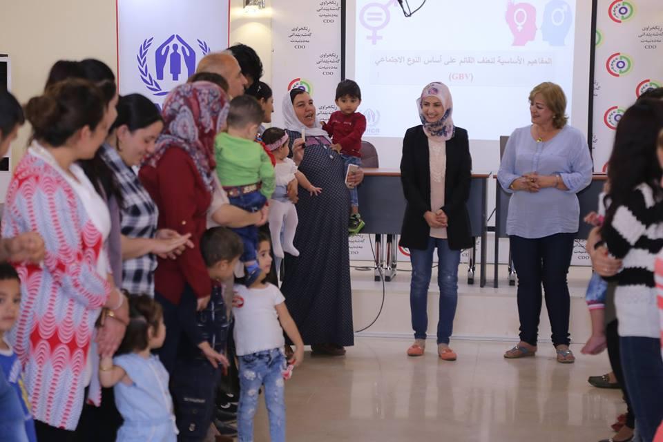 Gender-Based Violence Training Held for Refugees