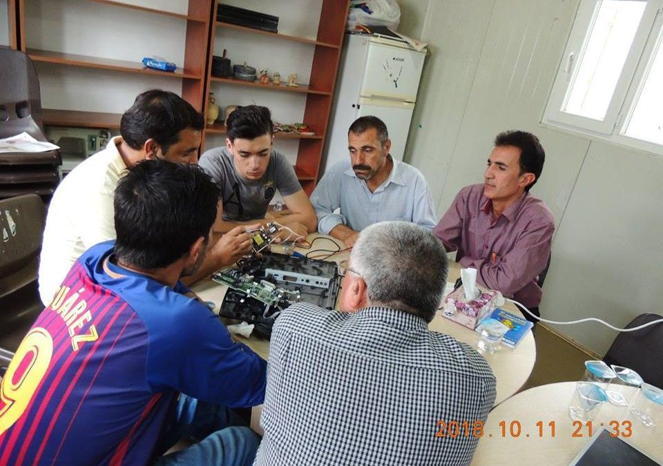 Profession Training Course Conducted at Arbat Refugee Camp