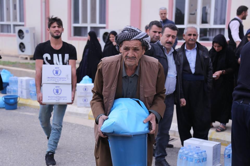 Providing Aid for Flood-Hit Families