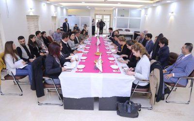 Civil Development Organization Received Delegation of Dutch Democrats 66 Party