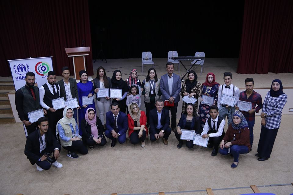 Long-Term English Course Ended in Chamchamal