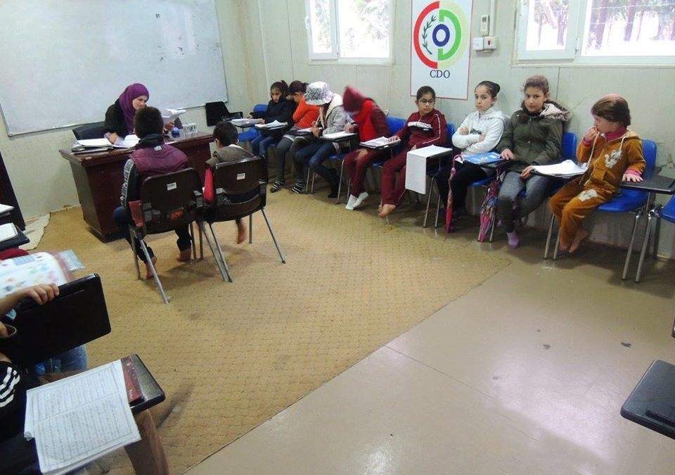 Arbat Community Center Conducted an English Course for Refugee Children
