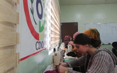 CDO Conducts Two Sewing Courses for Women of Darbandikhan
